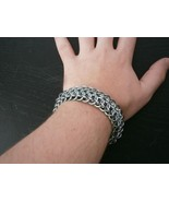 Maille Dragonback Bracelet Sea Foam and Gray - $35.00
