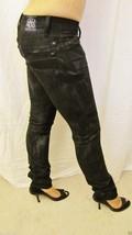 New Rock & Republic Designer Low Rise Skinny Leg Jeans Sz 25 0 Black Gra... - $39.55