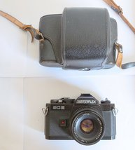 Revueflex SC2 35mm Film SLR Camera (Rare), made in Japan, with Case - $59.00