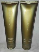 2- PACK)))  Avon ATTRACTION perfumed body lotion skin softener fragrance cream - $17.90