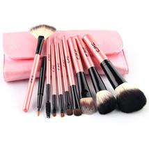 Professional 10 pcs Makeup Brushes Set Toiletry Cosmetic Kit Wool Brand ... - €21,77 EUR