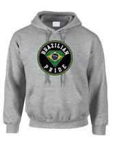 Brazilian Pride Women's Hooded Sweatshirt Country Pride Sweater - $26.00