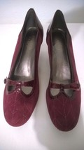 Franko Sarto Burgandy Red Pump 7.5m - $17.99