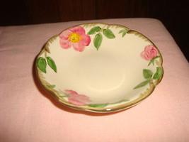 Vintage Franciscan Desert Rose 8 Berry Dessert Bowls 1960s TV Backstamp USA - $37.39