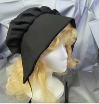 WAGON TRAIN OR PRAIRIE LADIES BONNET BLACK ONE SIZE FITS MOST - $12.00