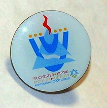 Jewish Agency for Israel Modi'in Rochester Partnership 2000 Official Lapel Pin  - $11.90