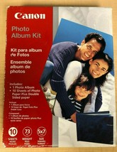 New Sealed Canon Photo Paper Plus Double Sided Album Kit 5x7 (0041B005) - $8.72