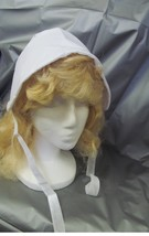 WAGON TRAIN OR PRAIRIE CHILD'S BONNET WHITE ONE SIZE FITS MOST - $6.00