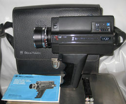 Bell & Howell 674/XL Focus Matic 8mm Movie Camera & Instructions Looks G... - $40.00