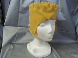 BART YELLOW LATEX HEADPIECE ONE SIZE FITS MOST - $12.50