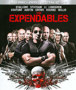 The Expendables (Blu-ray/DVD, 2010, 3-Disc Set) - $6.21