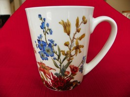 Fringe Studio Porcelain Butterfly and Flowers Coffee Mug for Barnes & Noble - £3.13 GBP
