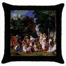 Giovanni the Feast of Gods Throw Pillow Case - $16.44