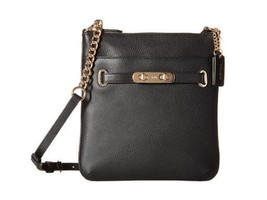 COACH PEBBLED LEATHER SWAGGER SWINGPACK/HANDBAG... - $116.09