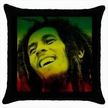 Bob Marley Throw Pillow Case - $16.44
