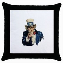 Uncle Sam I Want You Throw Pillow Case - ₨1,186.83 INR