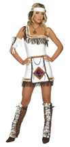 Sexy Roma Indian Chief Wild West Halloween Costume W/WO LEG WARMERS S/M ... - $65.00+