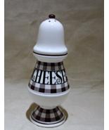 Vintage Enesco Checkered Parmesan Cheese Shaker JAPAN - $10.00