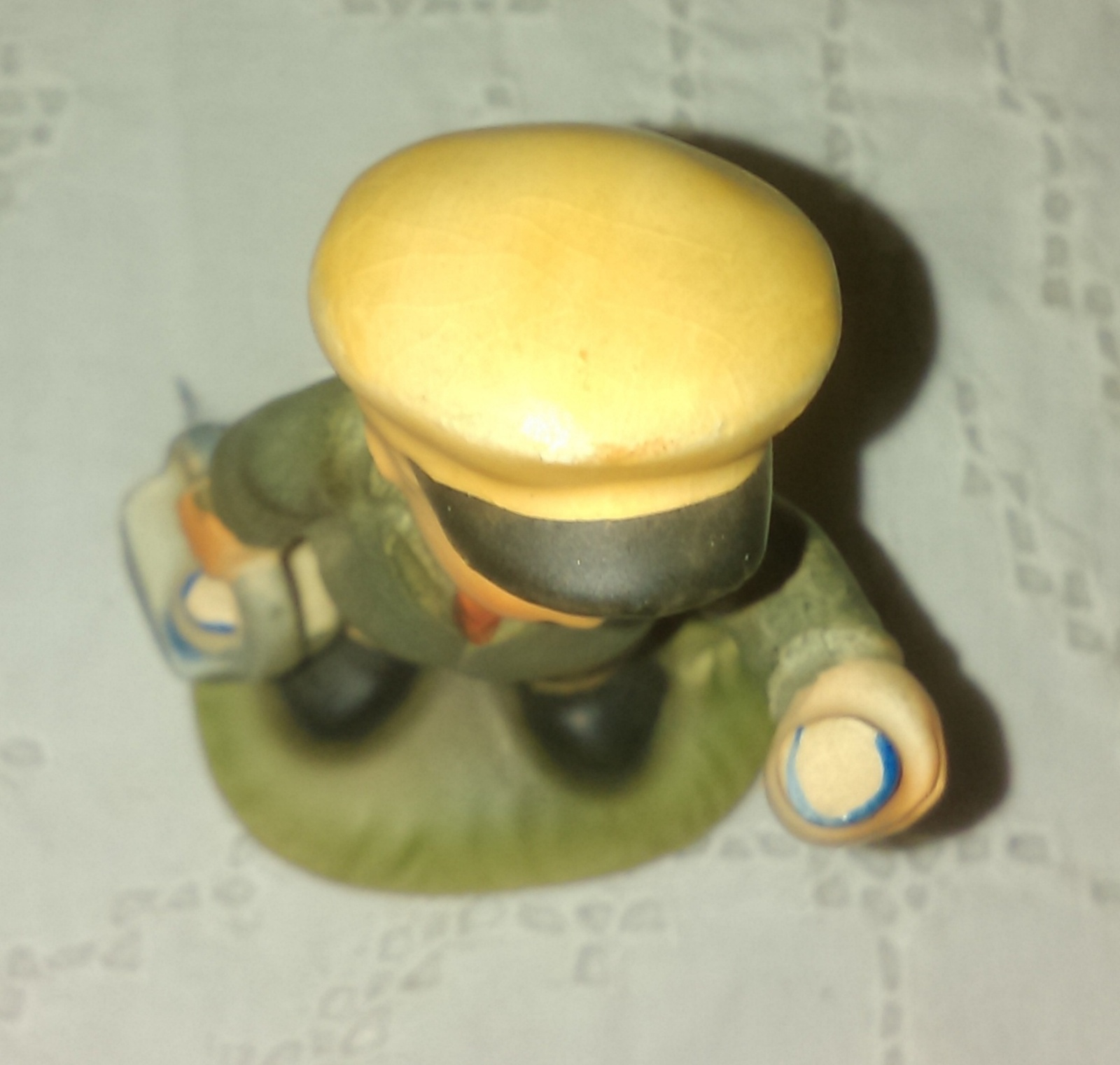 Napco Milk Delivery Boy Porcelain Figurine - No. C8811 - 1960