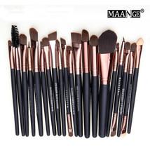 20 pcs Makeup Brush Set Tools Make-up Toiletry Kit Cosmetic Powder Wool ... - €21,77 EUR