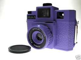 New Purple Holga 120GCFN lomo camera (6x6 incld.) - $44.99