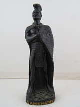 Vintage King Kamehameha Tiki Figurine - Made from Lava - By Poly Art - H... - $65.00