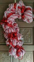 Candy Cane Christmas Wreath - $59.99