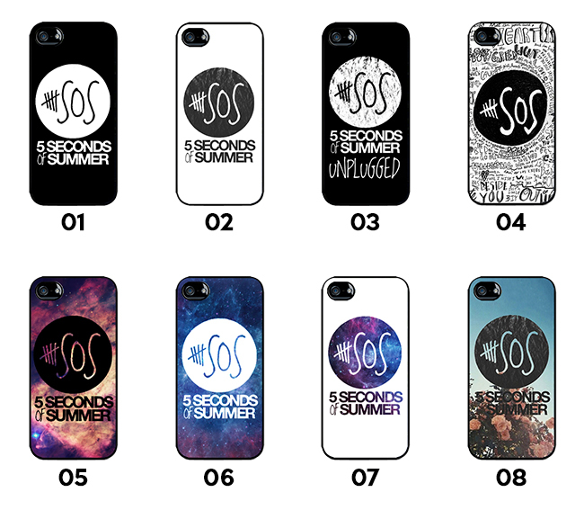 5 Seconds of Summer Collection 1 - 5SOS - iPhone 5/5S Cases for sale  USA