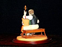 """1992 Days to Remember - Norman Rockwell """"The Fiddler"""" Figurine AA19-1611 Vinta image 5"""