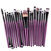 Cosmetic Brushes Set Eyeshadow Foundation Mascara Blending Pencil Brush ... - €11,31 EUR