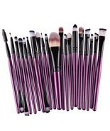 Cosmetic Brushes Set Eyeshadow Foundation Mascara Blending Pencil Brush ... - $12.98