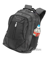 "Black 18-1/2"" Executive Backpack with Padded Laptop Compartment & Bottle... - $34.99"