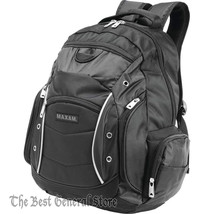 """19"""" Executive Backpack with Padded Laptop / Tablet Compartment & Side Po... - $38.99"""