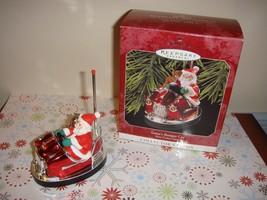 Hallmark 1998 Santa's Bumper Car Here Comes Santa Ornament - $10.99