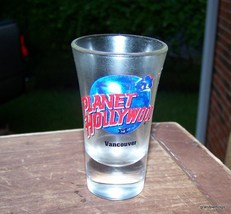 Planet Hollywood VANCOUVER shot glass vintage/new  Lot 263 - $57.42 CAD