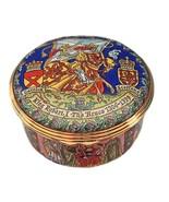Halcyon Days Enamels King Robert I - Robert the Bruce LE 75 (Scottish King) - $265.00