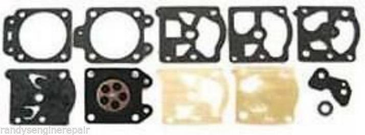 Walbro Carburetor Carb Kit D20 WAT WA WT Gasket Diaphragm Overhaul