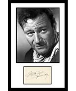 Ultra Cool - John Wayne - Movie Legend - Authentic Hand Signed Autograph - $299.99