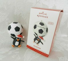 Hallmark Christmas Ornament - Soccer Star - 2013 Penguin Personalize - $14.84