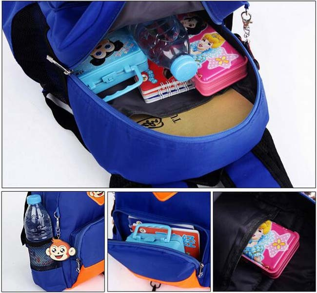 Baby Toddler Kids Safety Harness Backpack Walking Strap Rein Belt Leash Wing Bag image 11