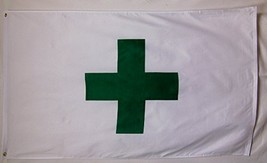 Marijuana Green Cross Dispensary Flag 3' X 5' Deluxe Indoor Outdoor Banner - $9.95