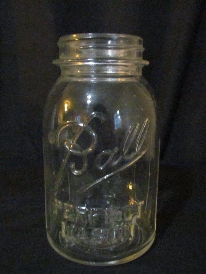vintage quart size ball perfect mason jar and 50 similar items. Black Bedroom Furniture Sets. Home Design Ideas