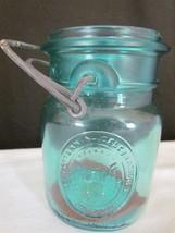Vintage Blue Ball Ideal Pint Bicentennial Jar w... - $6.92