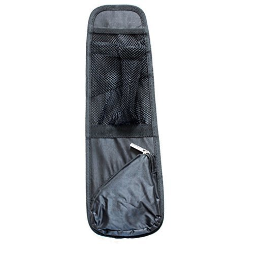 Auto Vehicle Seat Side Back Storage Pocket Backseat Organizer,BLACK