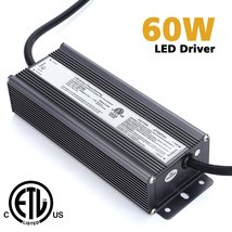 Weanas 60W LED Light Power Supply Driver Transformer Adapter AC110V to D... - $58.99