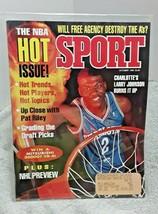 Sport Magazine October 1992 Larry Johnson Charlotte Hornets - $5.89