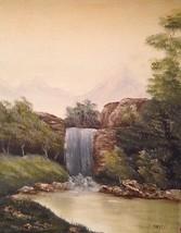 Grumpy Glen's Waterfall  by Helen Emery - $175.00