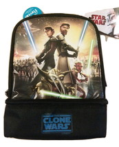 New NWT Star Wars The Clone Wars Thermos Insulated Kids' Lunchbox 100% P... - $19.98
