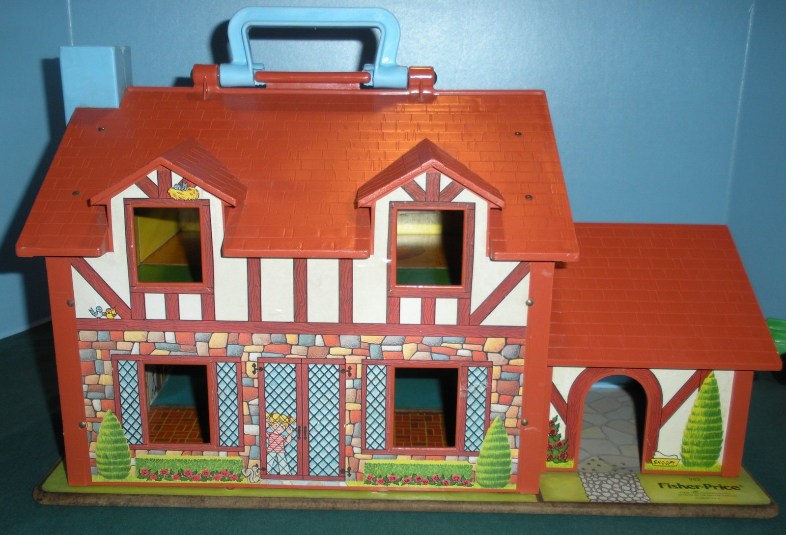 Vtg. Fisher Price Little People #952 Tudor House COMP. + BONUS/ EXC-EXC++! (F) image 5