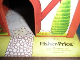 Vtg. Fisher Price Little People #952 Tudor House COMP. + BONUS/ EXC-EXC++! (F) image 6